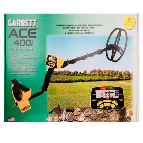 Металлоискатель ACE 400i